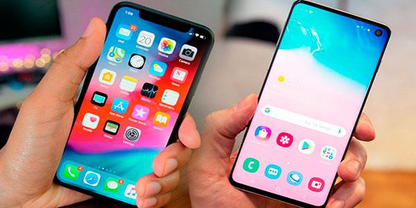 Сравнение iPhone XS и Samsung Galaxy S10