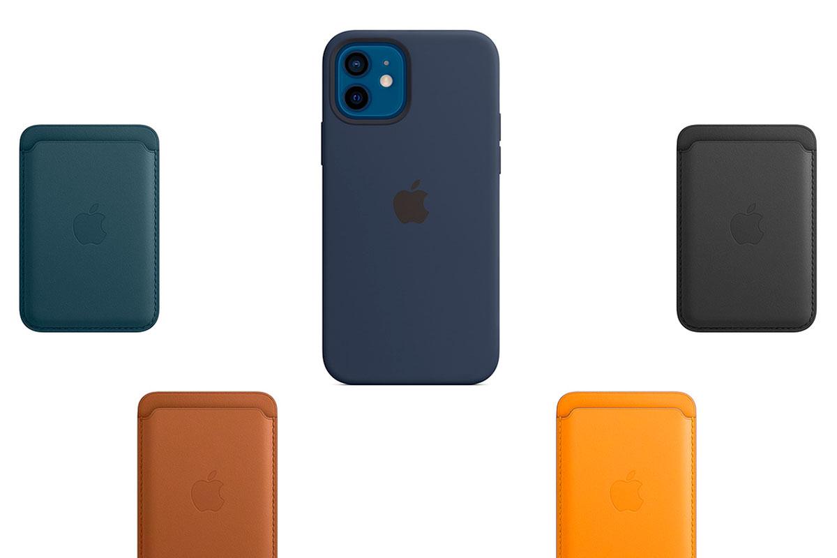 Apple добавила новые чехлы и аксессуары для iPhone 12 совместимые с MagSafe
