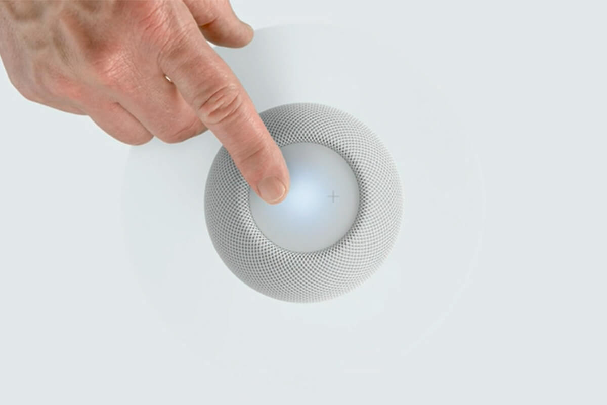 Apple показала колонку HomePod mini