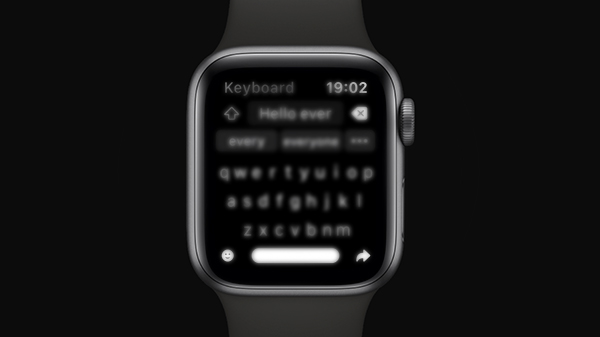 Появилась новая клавиатура для Apple Watch