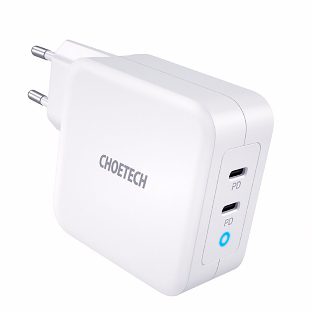 Купить Быстрое зарядное устройство oneLounge GaN Dual USB-C 100W для iPhone   iPad   MacBook