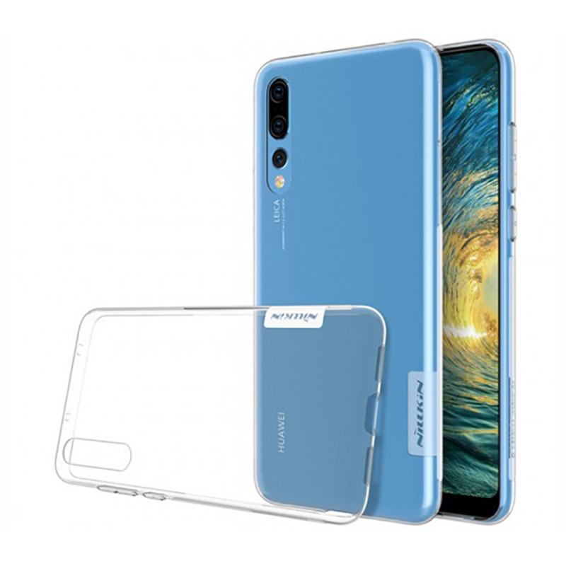 Купить Чехол Nillkin Nature TPU Clear White для Huawei P20 Pro