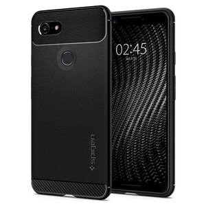 Купить Чехол Spigen Rugged Armor Matte Black для Google Pixel 3
