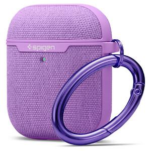 Купить Тканевый чехол с карабином Spigen Urban Fit Purple для AirPods