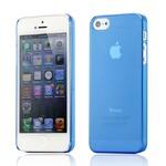 Ультратонкий синий чехол O'Thinner 0.2mm для iPhone 5/5S/SE