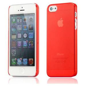 Купить Ультратонкий красный чехол O'Thinner 0.2mm для iPhone 5/5S/SE