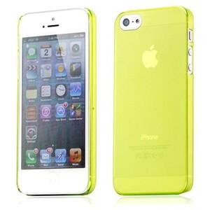 Купить Ультратонкий желтый чехол O'Thinner 0.2mm для iPhone 5/5S/SE