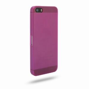 Купить Ультратонкий ярко-розовый чехол O'Thinner 0.2mm для iPhone 5/5S/SE