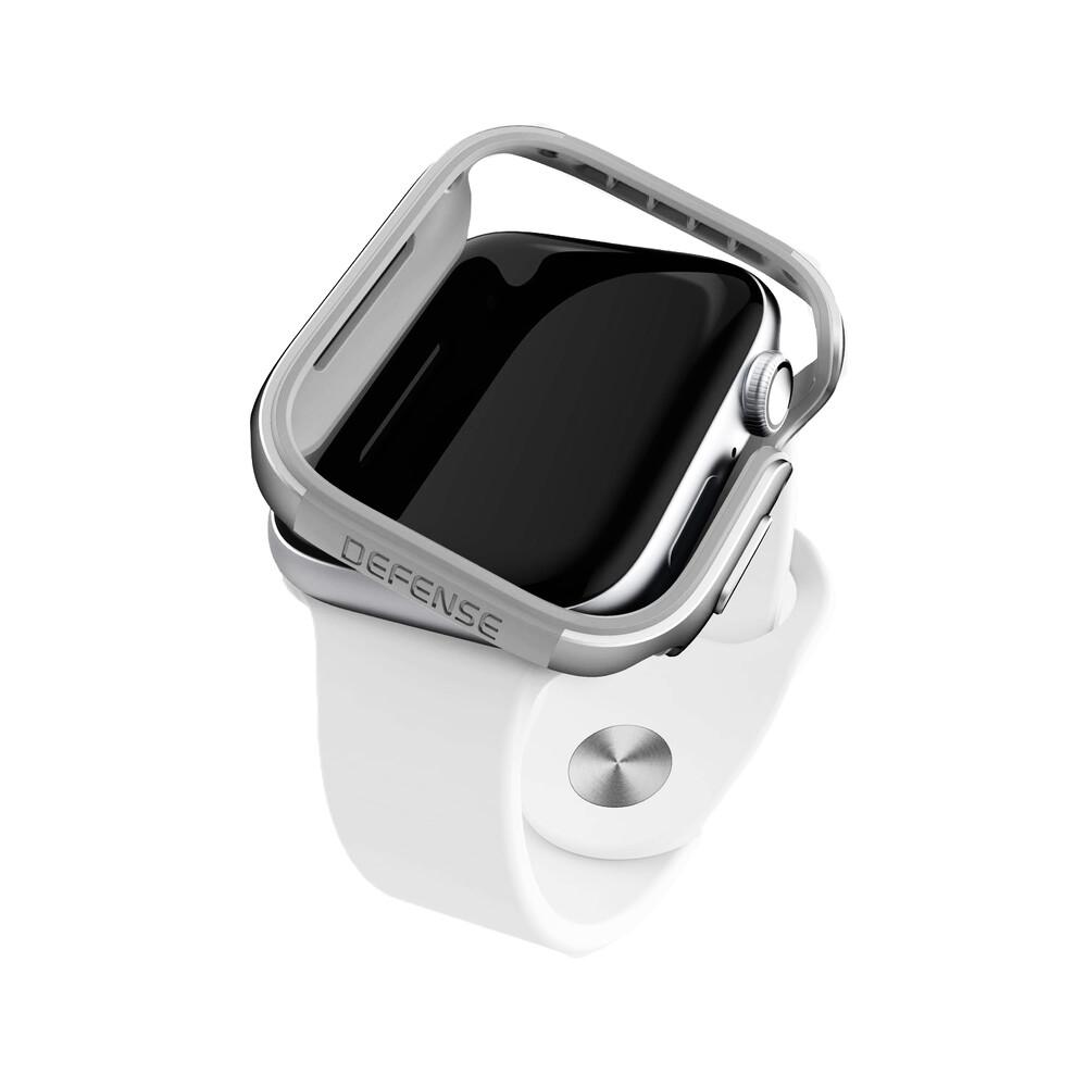 Купить Противоударный чехол X-Doria Defense Edge Silver для Apple Watch 40mm SE | 6 | 5 | 4