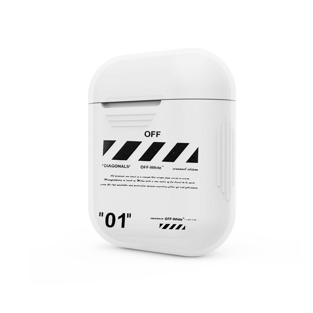 Купить Пластиковый чехол oneLounge OFF-WHITE для Apple AirPods