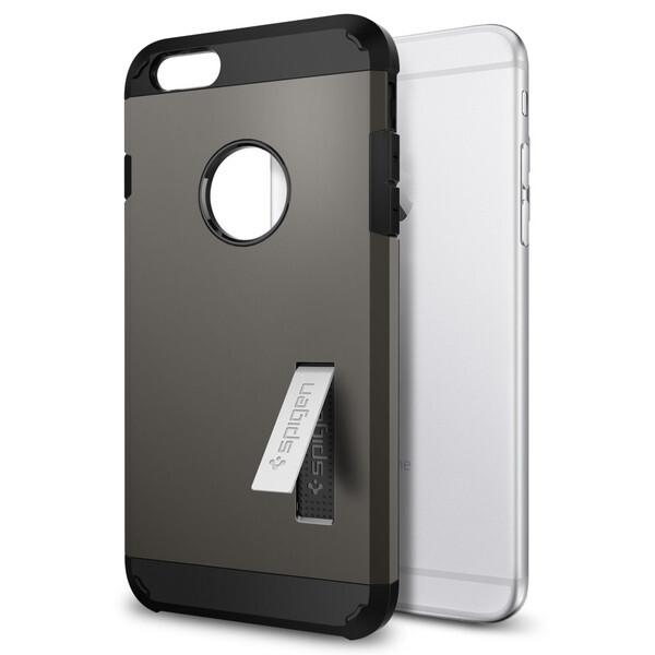 Чехол Spigen Slim Armor Gunmetal для iPhone 6 Plus/6s Plus