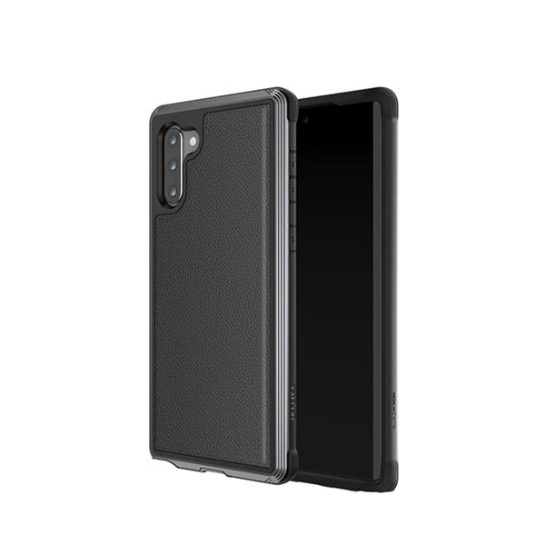 Противоударный чехол X-Doria Defense LUX Black для Samsung Note 10