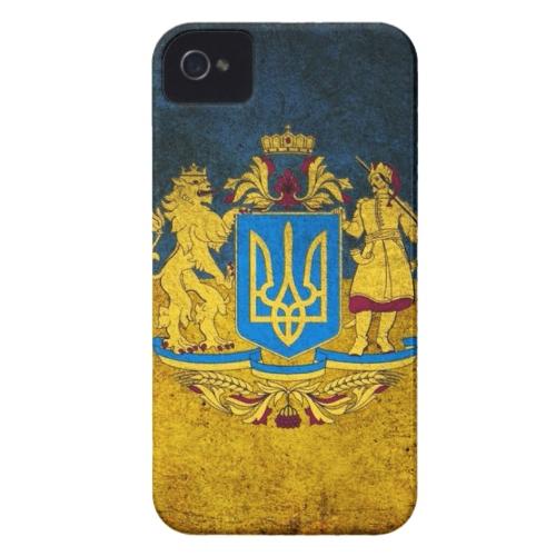 Чехол Bart Maidan с гербом Украины для iPhone 4/4S