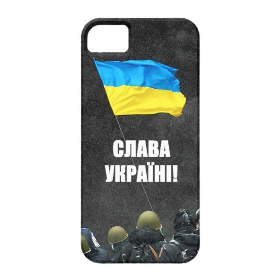"Чехол Bart Maidan ""Слава Україні!"" для iPhone 5/5S/SE"