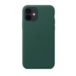 Купить Кожаный чехол oneLounge Genuine Leather Case MagSafe Pine Green для iPhone 12 mini ОЕМ
