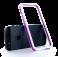 Двухцветный белый бампер для iPhone 5/5S/SE