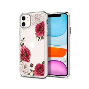 Купить Чехол Spigen Ciel Red Floral для iPhone 11