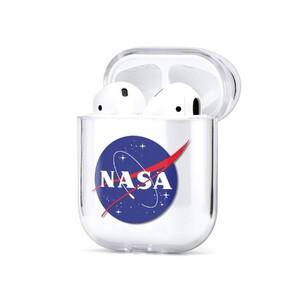 Купить Силиконовый чехол oneLounge NASA Clear для AirPods