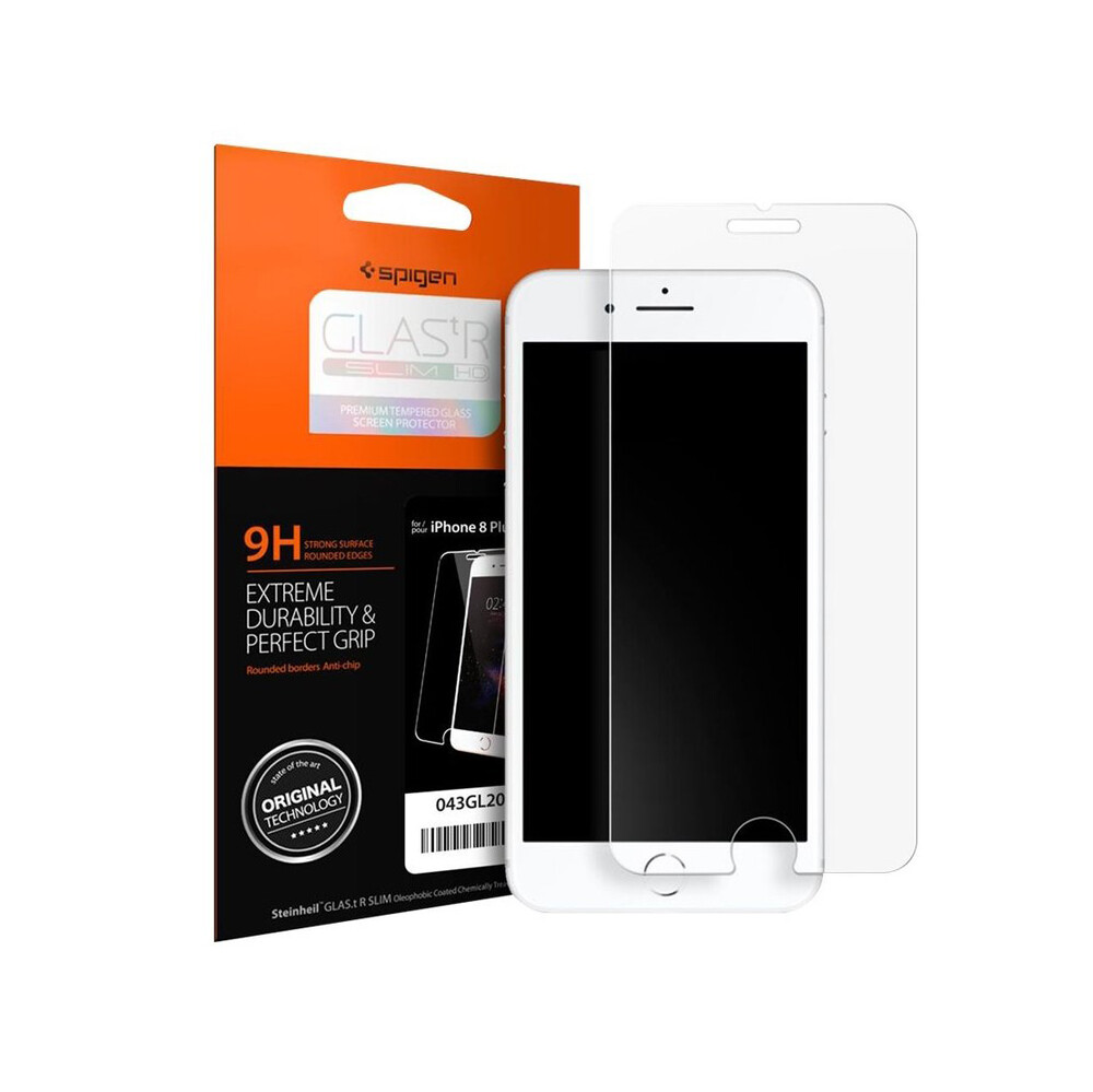 Купить Защитное стекло Spigen GLAS.tR SLIM для iPhone 7 Plus | 8 Plus