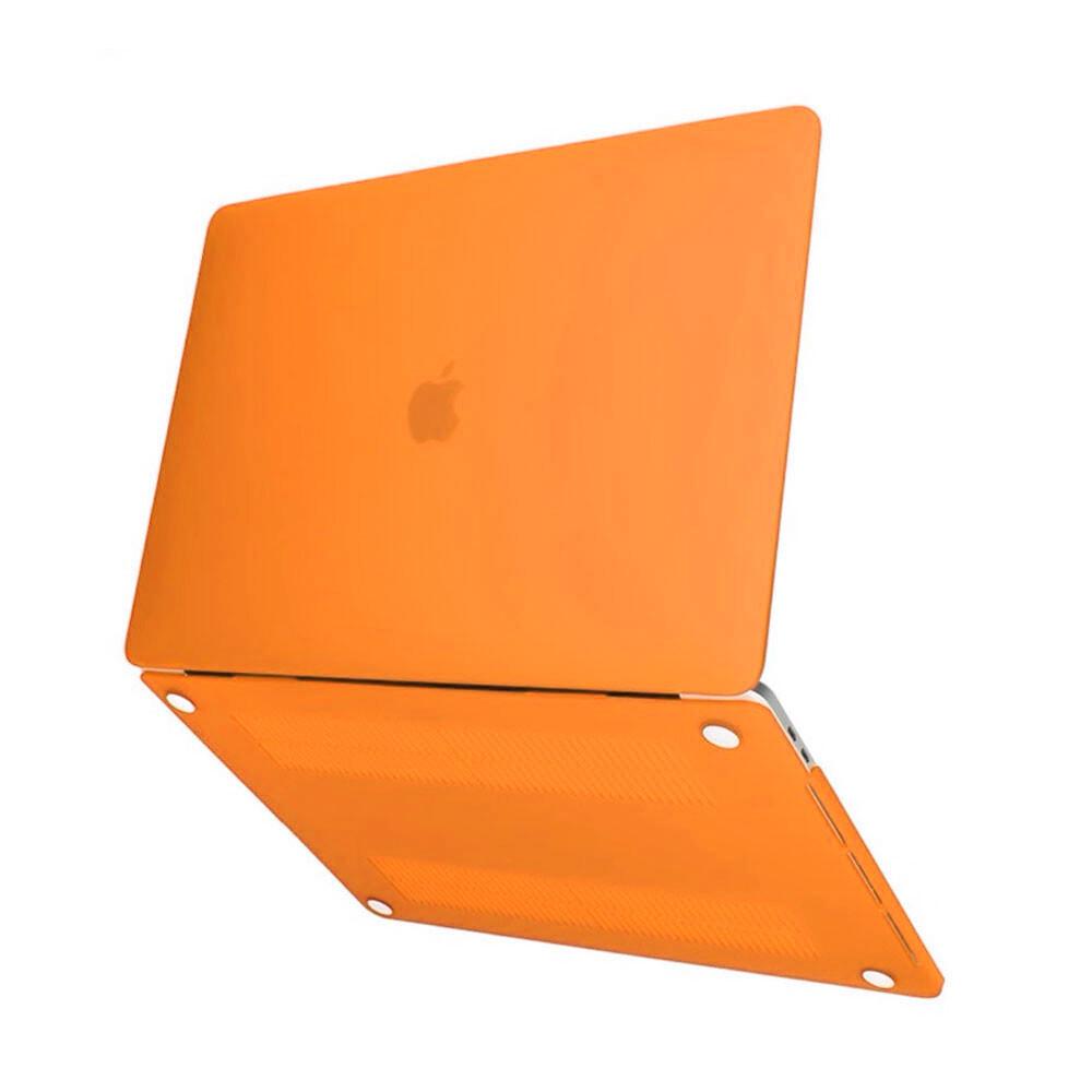 "Пластиковый чехол iLoungeMax Soft Touch Orange для MacBook Air 13"" (M1 | 2020 | 2019 | 2018)"