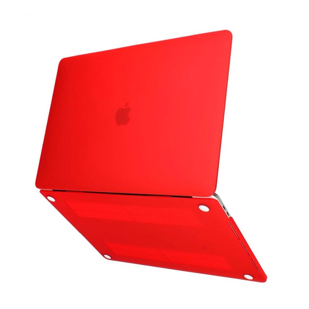 "Пластиковый чехол iLoungeMax Soft Touch Red для MacBook Air 13"" (M1 | 2020 | 2019 | 2018)"