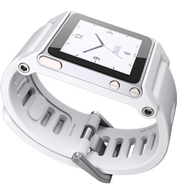 Ремешок-часы Lunatik TikTok White для iPod Nano 6G