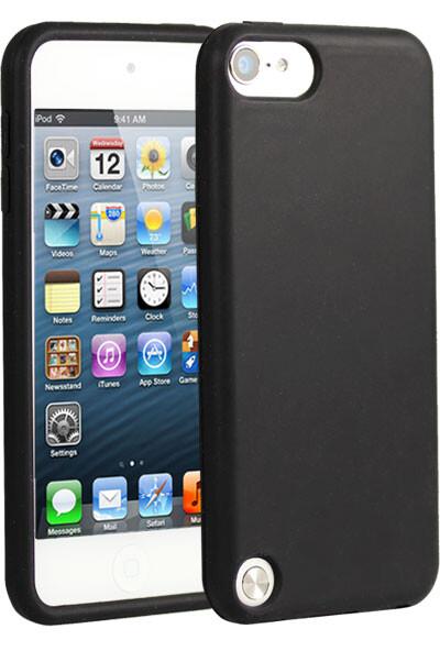 Черный силиконовый чехол для iPod Touch 5G/6G
