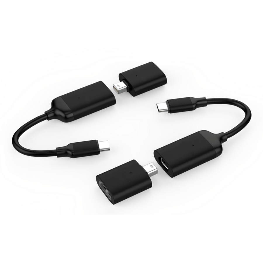 Купить Адаптер 2 в 1 для MacBook HyperDrive USB-C to Mini DisplayPort |  HDMI
