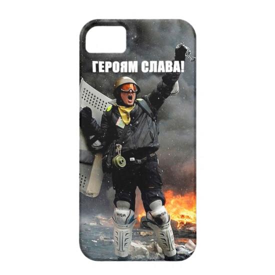 """Чехол Bart Maidan """"Героям Слава!"""" для iPhone 5/5S/SE"""