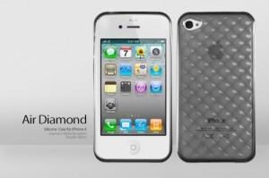 """Чехол """"Бриллиант"""" для iPhone 4"""