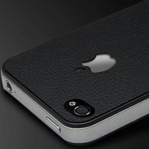 """Купить SGP Кожаная наклейка """"Skin Guard Leather"""" для iPhone 4/4S"""