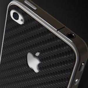 """SGP Карбоновая наклейка """"Guard Carbon"""" для iPhone 4/4S"""