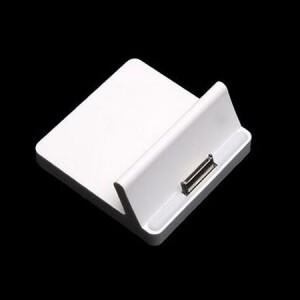 Белая док-станция для iPad 2/3, iPhone 3G/4/4S