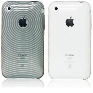 Силиконовый чехол Circle для iPhone 3G/3GS