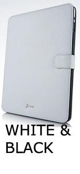 Кожаный чехол White&Black для iPad 4/3