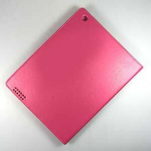 Кожаный чехол Magnetic CASE для iPad 4/3 Розовый