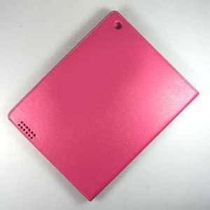 Купить Кожаный чехол Magnetic CASE для iPad 4/3 Розовый