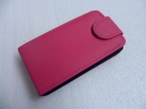 Малиновый Flip чехол для iPhone 3G/3GS