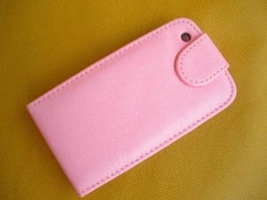 Розовый Flip чехол для iPhone 3G/3GS
