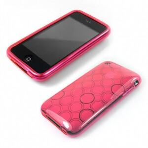 Розовый чехол CIRCLE для iPhone 3G и iPhone 3GS
