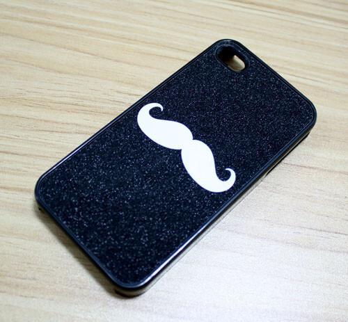 Черный чехол Charlie Chaplin для iPhone 4/4S