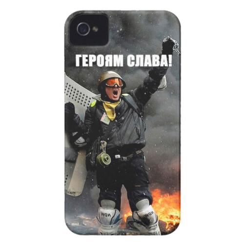 """Чехол Bart Maidan """"Героям Слава!"""" для iPhone 4/4S"""