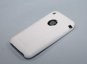 Купить Белый силиконовый чехол для iPhone 3G/3GS