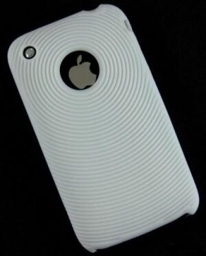 Белый силиконовый чехол для iPhone 3G/3GS