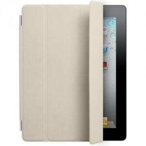 Кожаный чехол Apple Smart Cover Cream для iPad 2