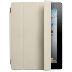 Купить Кожаный чехол Apple Smart Cover Cream для iPad 2