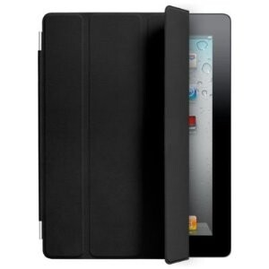Кожаный чехол Apple Smart Cover Black для iPad 2
