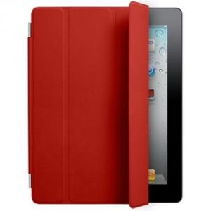 Купить Кожаный чехол Apple Smart Cover Red для iPad 2