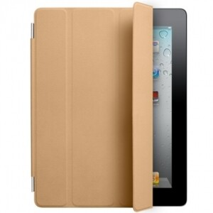 Кожаный чехол Apple Smart Cover Tan для iPad 2