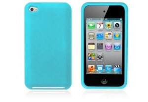 Бирюзовый чехол для iPod Touch 4G